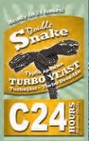 10 Pack by DoubleSnake C24 Turbo Yeast Plus 1kg (2 litres) FREE Alcotec Spirit Carbon